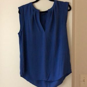 Silky jcrew sleeveless top